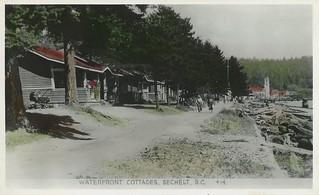 Postcard: Sechelt, BC, c.1940s
