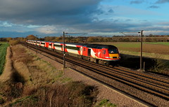 VTEC  43312 and 43295 (dgh2222) Tags: class burn 43 hst ecml 43312 1e13 43295