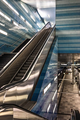 Hamburg 2 (pnoome) Tags: lighting travel glass station amsterdam architecture modern germany underground subway design europe metro hamburg tiles infrastructure u4 patrik hafencity zaandam architekten netzwerkarchitekten uberseequartier patrikzaandam patrikamsterdam pnoome elbeside