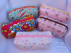 Estojinhos box (ღ By Ane Santos ღ) Tags: artesanato costura costurices