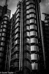 Lloyds Building #2 (Scrufftie) Tags: england london canon unitedkingdom gb cityoflondon lloydsoflondon niksilverefexpro2 nikdfine2 nikcollection photoshopcc canong7x