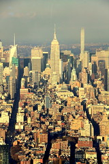 One World Observatory @ One World Trade Center (wyliepoon) Tags: newyorkcity skyline architecture skyscraper downtown midtown empirestatebuilding lowermanhattan oneworldtradecenter 432parkavenue oneworldobservatory