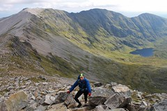 On Conival, looking back at Ben More Assyny