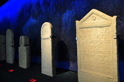 Roman gravestones in Carnuntum