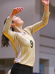 IMG_8361 (SJH Foto) Tags: girls volleyball high school york delone catholic team teen teenager