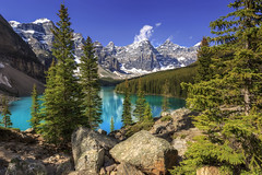 Mountain Paradise (NorthFla) Tags: morainelake banffnationalpark