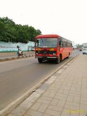 Kudal-Kolhapur-Karad-Satara-Pune. (kunaltendulkar96) Tags: msrtc newparivartan kudal