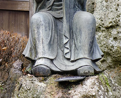 Close-up of Buddha statue at Japanese garden (phuong.sg@gmail.com) Tags: ancient antique art asia black buddha buddhism buddhist carving chinese closeup contemplation culture east eastern exoticism faith god happiness happy japan life meditate meditation monk nirvana old oriental peace philosophy power pray religion sacred sculpture serene smile spiritual statue stone symbol temple traditional vintage worship zen