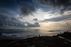 Echo Beach Surfers at Sunset (pictcorrect) Tags: bali island echo beach canggu surfers surfing sunset wide angle