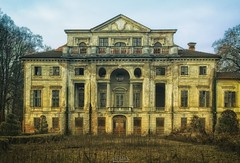 every town has an Elm Street (Szydlak Szk) Tags: abandoned derelict forgotten old haunted spooky castle manor mansion urbex urban exploration forlorn forsaken fotografia photography decay decayed decaying deteriorated architecture exterior