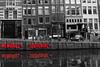 Souvenirs (Alan Avon) Tags: paesibassi holland netherland digital reflex eos canon viaggi red buildings streetphotography travel biancoenero bw blackandwhite europe europa amsterdam