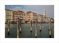 A matter of life and death or how I nearly lost my tripod (Explore 14/12/16 #177) (andyrousephotography) Tags: venice salute hot sunny icecream tiramisu addiction grandcanal campanile view tripod chuck loss rushed longexposure le bigstopper andyrouse canon eos 5d mkiii