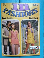American Thread Star Book 230, In Fashions for Him and Her (kittee) Tags: nodate 1970s vintagepatterns vintagecraft vintageknitting vintagecrochet crochet knitting americanthread frumpy wouldsell wouldtrade c