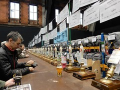 Manchester Beer Fest (deltrems) Tags: manchester beer cider fest festival real ale central station gmex camra drinkers people men women handpulls