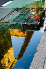 firstshoot_120.jpg (gaswirth) Tags: reflection naturallight chintown street nyc puddlereflection puddle candacesimon