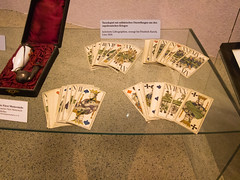 Playing cards from the Napoleonic wars