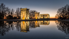 TEMPLO DEBOD (-COULD 2.0) Tags: templo spain sigma1750 madrid night ngc noche nocturna city arquitectura parque