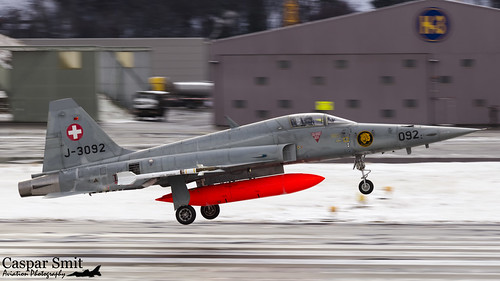Swiss Air Force F-5E Tiger II - J-3092