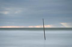 Sun Shafts (annemcgr) Tags: sunrise sun shafts dollymountbeach dublin water sea fineartphotography annemcgrath