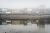 Misty River (jonron239) Tags: london river thames boats lowtide tideway fog mist pub theblueanchor