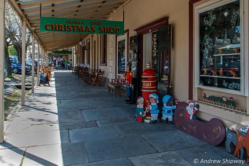Vanilla Spice Christmas Shop, Maldon, Victoria.