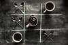 4/52 Black & White splash (Nathalie Le Bris) Tags: stilllife blackandwhite coffee cenital splash 52of2017