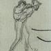 MILLET Jean-François,1849 - Homme portant un Fardeau, pour l'Arrivée à Barbizon (drawings, dessin, disegno-Louvre RF11190) - Detail 14
