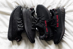 "Adidas Yeezy Boost 350 Pirate Black & V2 Black/Red ""Bred"" Yeezys (dunksrnice) Tags: 2017 wwwdunskrnicenet dunksrnicenet dunksrnice rolotanedojr rtanedojr rolo tanedo jr adidas yeezy boost 350 bred black red"