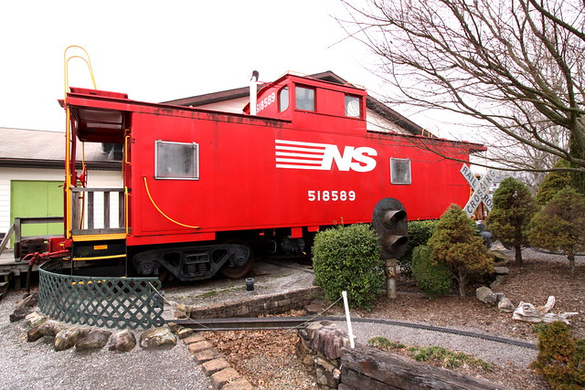 NS Caboose 518589 - Oak Ridge, TN