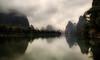Xing Ping at dawn. (Massetti Fabrizio) Tags: sunrise sun cina china clouds carlzeiss21mmf28 nikond700 night river yellow yangshou yangshuo guilin guangxi guanxi landscape landscapes