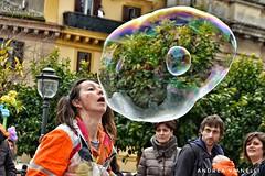 One inside the other (Instragram Andrea TigerVianelli) Tags: circomaximo circo street bubbles bubble soap carnival people person art persone italia italy lazio vr nikon d5100 photo shoot lucky water acqua bolle sapone