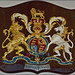 Coat of Arms from Royal Yacht Britannia (from a previous Royal Yacht)