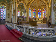 Assumption Church Altar (Pat Kavanagh) Tags: panorama ontario altar windsor stitched ourladyofassumptioncatholicchurchparish