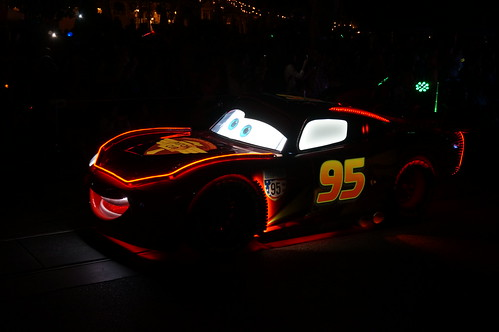 """Lightning McQueen in the Paint the Night Parade • <a style=""""font-size:0.8em;"""" href=""""http://www.flickr.com/photos/28558260@N04/20662562286/"""" target=""""_blank"""">View on Flickr</a>"""