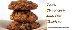 Dark Chocolate and Oat Clusters (goodhealthyworld) Tags: cookies chocolatecookies dessertrecipe healthydessert oatscookies sweetdishrecipe