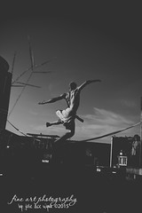 Touch the Sky (Fine Art Photography by: Julie Dice Wynn) Tags: life city shirtless man real fly blackwhite jump jumping moody south grunge fineart southeast fineartphotography southernunitedstates touchthesky icanfly columbusga fineartphotographer phenixcityal uniquelyyou juliedicewynn southernfineart