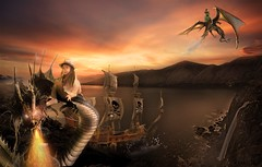 'Pirates n Dragons' #Photography #PhotoManipulated #DigitalArt #DigitalIllustration #Illustration #Art #Artist #FairytaleCollection #Commission #fantasy #surrealism ##SarahMaurer #Sarah'sArt #UsagigunnDesignInx #UDI (Usagigunn79) Tags: art sarah illustration photography artist surrealism digitalart fantasy commission photomanipulated udi digitalillustration sarahmaurer fairytalecollection usagigunndesigninx