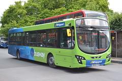 Go Whippet 101 BG59FYB (Will Swain) Tags: uk travel cambridge england bus buses britain go transport august whippet east 101 seen cambridgeshire 8th 2015 bg59fyb