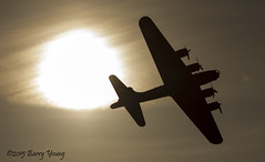 Flying Fortress B17 (barry.young10) Tags: b flying scottish sally airshow b17 fortress prestwick 2015