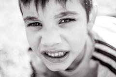 (NPV.ROCKS) Tags: portrait blackandwhite bw byn blancoynegro monochrome 35mm kid bokeh monochromatic