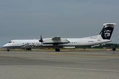N430QX (Alaska Horizon) (Steelhead 2010) Tags: alaska yvr bombardier dhc8 horizonair dhc8q400 nreg alaskahorizon n430qx