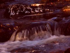 Splash! ('cosmicgirl1960') Tags: bridge autumn water landscape waterfall outdoor devon waterfalls shipley yabbadabbadoo