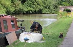 Canal Folk (D R Swift) Tags: canal cheshire shropshireunioncanal nantwich boatrepair canalfolk