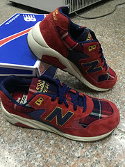 NB MRT580WB Womens New Balance Mesh Scottish Red Shoes (RobertThrashy) Tags: shopping discount cheap runningshoes coupon womensshoes retrostyle onlinestore newbalance580 fashionsneakers popularshoes