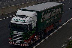 Stobart H110 PF14 LCG Victoria Anamaria A1 Washington Services 27/10/15 (CraigPatrick24) Tags: road truck washington cab transport lorry delivery vehicle a1 trailer scania logistics stobart eddiestobart curtainsider h110 stobartgroup scaniar450 washingtonservices pf14lcg victoriaanamaria a1washington a1washingtonservices stobartcurtainsider