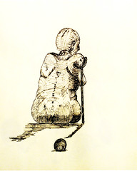 No mujer II (Rodrigo_d._Toledo) Tags: art female mujer arte sexo transexual scketch cuerpo humana contemporneo figura lneas transex ambigedad corporalidad genitales