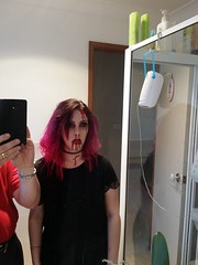 Zombie alert (dorofofoto) Tags: halloween scary zombie andrea teenager fakeblood daugther 2015 halloweening