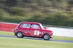 Classic Touring Cars - Andy Messham (chris.selby) Tags: red classic cars andy car speed austin 5 fast 7 mini racing seven 300 panning barc touring snetterton pre66 messham