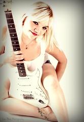 Donna's White Stratocaster (Keltron - Thanks for 7 Million Views!) Tags: sexy donna model fender fenderstratocaster select beautifulgirl hotgirl sexygirl hotmodel alaskangirls anchoragegirls whitefenderstrat