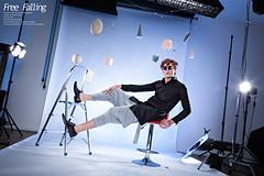Free Falling (Pimodi Photography) Tags: fashion studio model singapore modeling levitation editorial fashionshoot maxtan